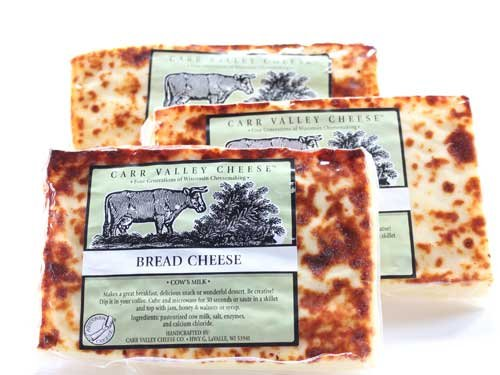 Bread Cheese Carr Valley Juusto 3 Pack - 6oz each