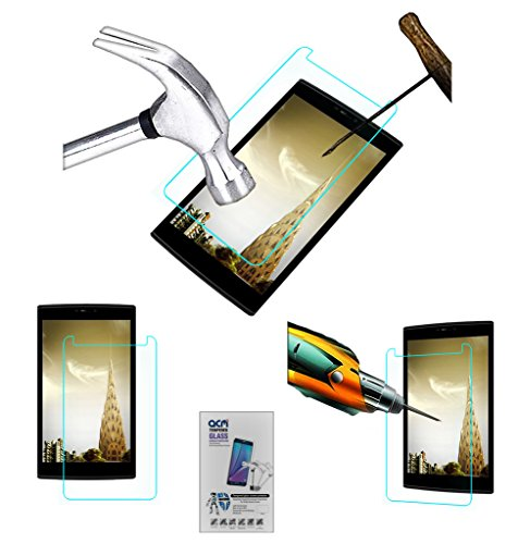 Acm Tempered Glass Screenguard Compatible with Micromax Canvas Tab P802 Screen Guard Scratch Protector