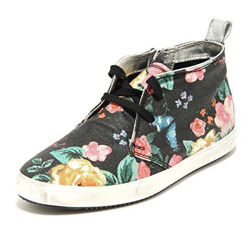 P448 9882G Sneakers Donna Kent Flowers Scarpe Scarpa Shoes Women [37]