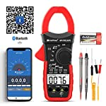 HOLDPEAK Digital Clamp Multimeter Connect with APP via Bluetooth HP-570C-APP, Amp Ohm Tester,4000 Counts AC/DC Voltage AC/DC Current,Resistance,Diode Test,Temperature,Capacitance Tester
