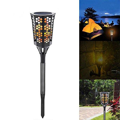 Bazaar Lampe solaire 96 LED pour gazon d'extérieur Étanche IP65