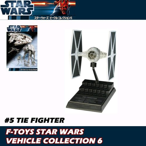 SCALE MODEL F-TOYS STAR WARS VEHICLE COLLECTION 6 #5 TIE FIGHTER