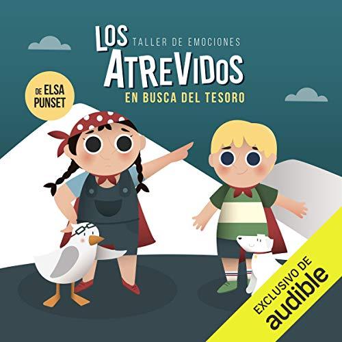 Diseño de la portada del título Los Atrevidos en busca del tesoro
