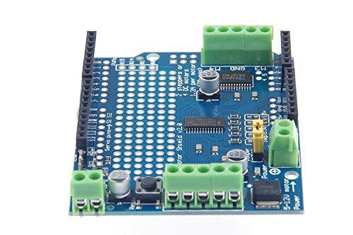 DollaTek Stepper Servo Robot Shield v2 con PWM Driver Shield para Arduino