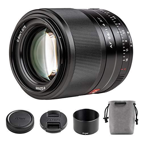 VILTROX 56mm F1.4 Obiettivo Autofocus per Fuji, Obiettivi Verticale Formato APS-C ad Ampia Apertura per Fotocamere Fujifilm X-Mount X-T200 T30 T4 T3 A7 Pro3