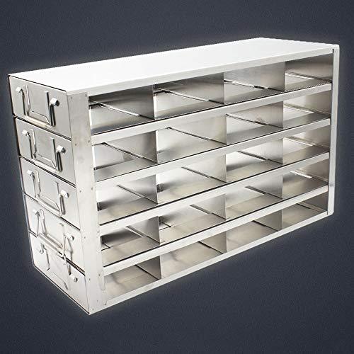 Experimental Supplies - Estante de almacenamiento de acero inoxidable 304 para congelador y cajones verticales, Whale jump, b, 1