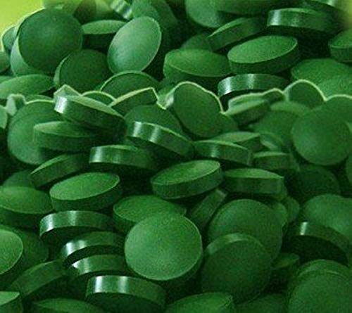 Spirulina Tablets, 1000 Count, 250mg Each, 100% Pure, raw, Organic, Cold-Pressed, from Raw Power Organics