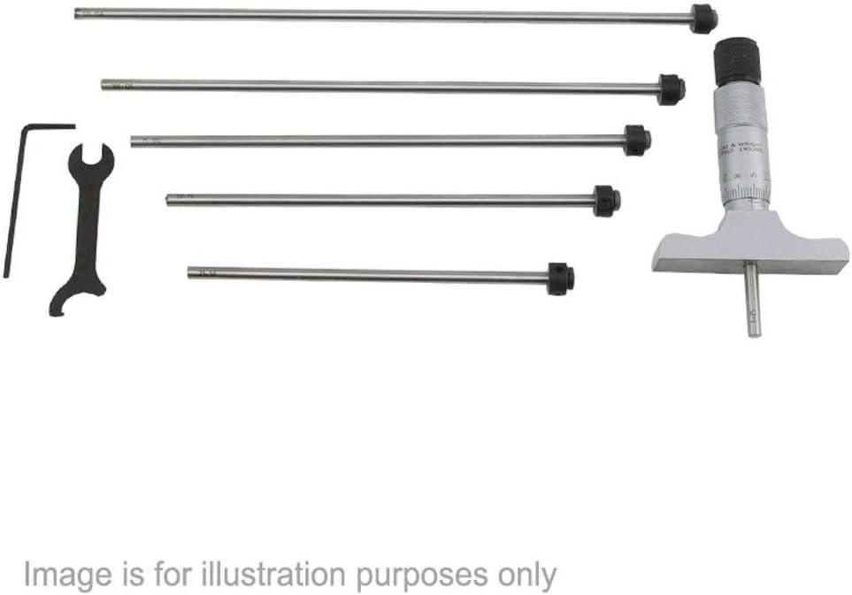 Super special Max 59% OFF price 891M150 Adjustable Depth 0.01mm 0-150mm Micrometer