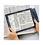 A4 Magnifier Full Page Reading Magnifier, 3X Magnifying Power Large Sheet Magnifying Glass, Reading Aid Lens Fresnel for Books Menus Newspapers, Improve Elderly Poor Eyesight for The Elderly Gift