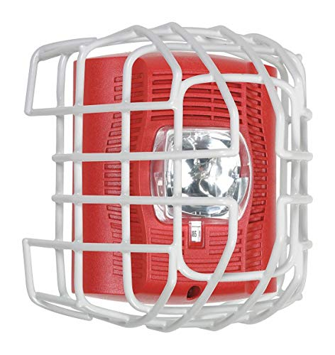 9-ga Wire cage Protects Horn/Strobe/spkr