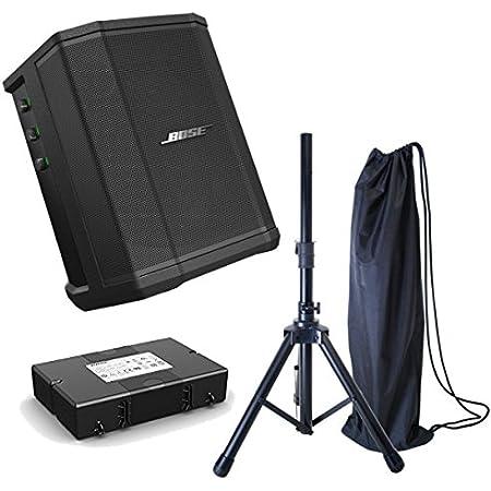 Bose S1 Pro(専用バッテリー同封) + スピーカースタンドセット 高音質モバイルPA お得なセット