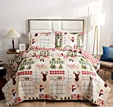 Christmas Quilt Set Full/Queen S...