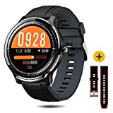 NACATIN Montre Connectée, Bracelet Connecté Bluetooth Smartwatch IP68 Etanche...