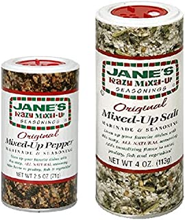 Jane's Krazy Mixed-Up Seasonings (Mixed-Up Salt and Mixed-Up Pepper)