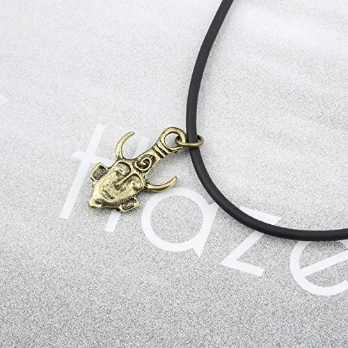 deYukiko Supernatural Jensen Ackles Dean Winchester Protection Amulet Evil Necklace