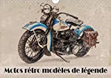 Motos retro modeles de légende (calendrier mural 2020 din a4 horizontal) - serie de 12 tableaux de c (Calvendo Technologie): Série de 12 tableaux de ... dernier. (Calendrier mensuel, 14 Pages )