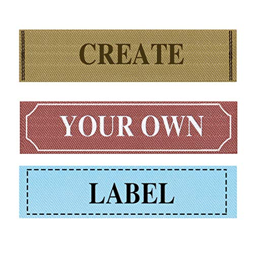 Satin Finish 50,75 or 100 Iron On Name Labels// Name Tags// Name Tapes