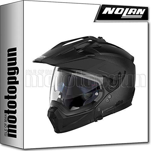 NOLAN CASCO MOTO CROSSOVER N70-2 X SPECIAL NERO GRAFITE 009 TG. XXXL