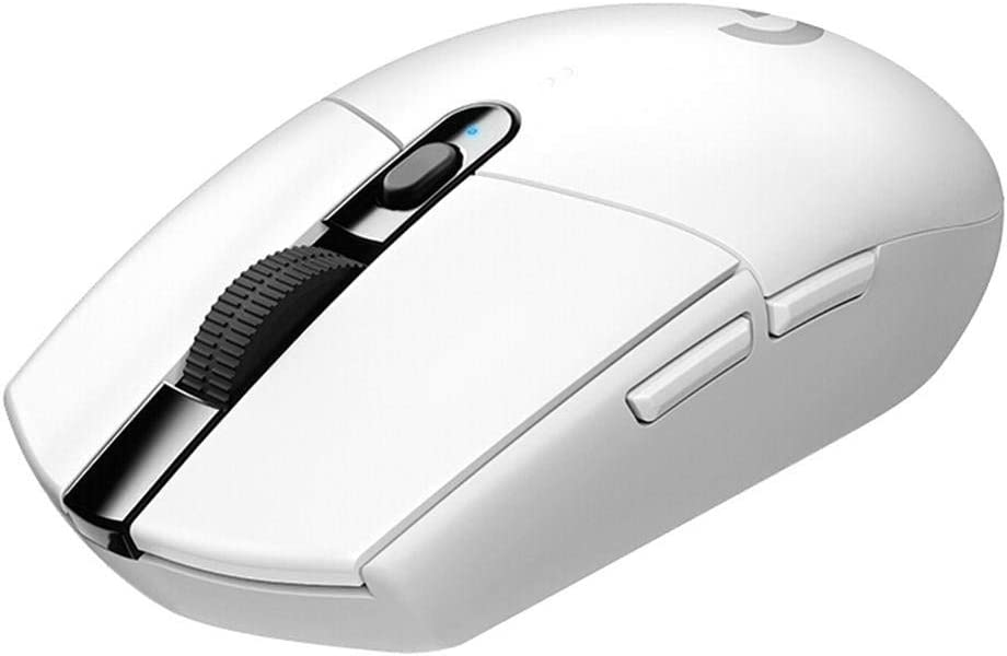 Mice White Buttons Wireless Hero Sensor 12000DPI Adjustable Gaming Mouse Optical Game