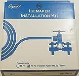 Supco 25' Copper Tubing Ice Maker Installation Kit, 1/4' OD, C25