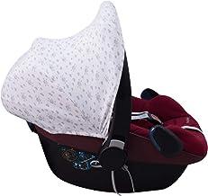 JANABEBE Capota para Maxi-Cosi Pebble Bebe Confort (GREY SKULLS)