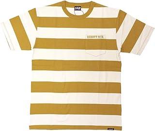 [ショット] Tシャツ W.O.BORDER POCKET TEE 3193067 メンズ