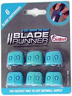 Goldblatt G15855 Blade Runner Replacement Blades, 6- Pack