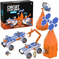Educational Insights Circuit Explorer Rover, Easter Gift, Building Set & Beginner Circuit Building, STEM Toy, Perfect...