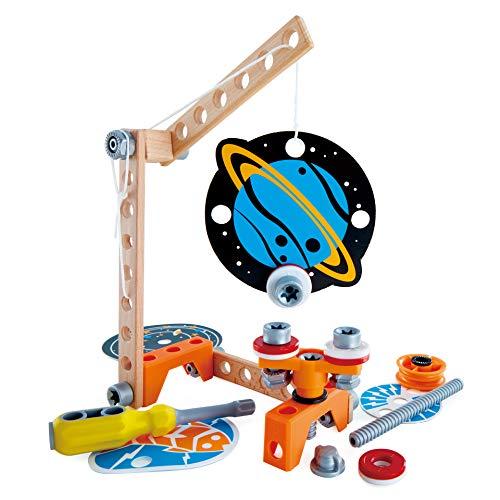 Hape E3033 Magnetwissenschaftliches Labor Mint-Spielzeug, Experimentierset, Junior Inventor-Erfinden und Experimentieren