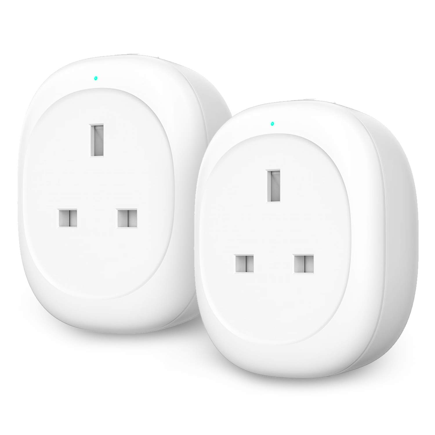 APP Remote Control with Timer//Schedule Function No Hub Required Smart Outet Compatible with Alexa Echo /& Google Home for Voice Control Maxcio Smart Plug with 2 USB Ports 2 Packs WiFi Smart Plug