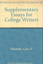 Supplementary Essays for College Writers