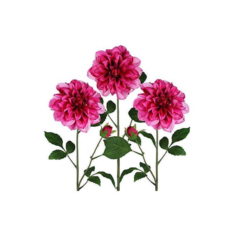 silk flower arrangements winlyn dahlia flower floral stem for arrangements centerpieces bouquets