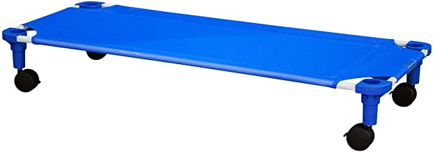 product image for Assembled Standard Blue Cot Dolly with Blue Legs - 1 Pack