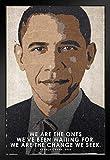 Poster, Motiv President Barack Obama We Are The Change,