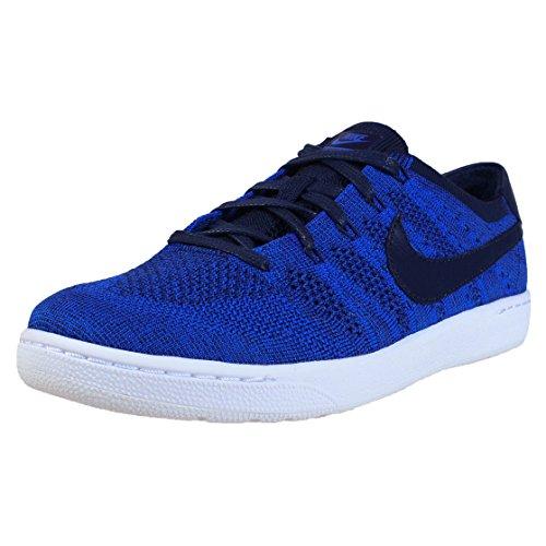 Nike Herren Tennis Classic Ultra Flyknit Turnschuhe, Azul (College Navy/College Navy-Racer Blue), 42 EU