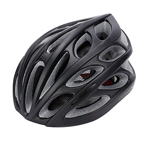 Gonex Adult Bike Helmet, Cycling Road Mountain Helmet with Safety Light,...