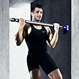 Becoolar Pull Up Bar for Doorway - Chin Up Bar, Upper Body Workout Bar for Home Gym Exercise Fitness, No Screw Installation Doorway Pull Up Bar (26'~39' Adjustable Width) (Black)