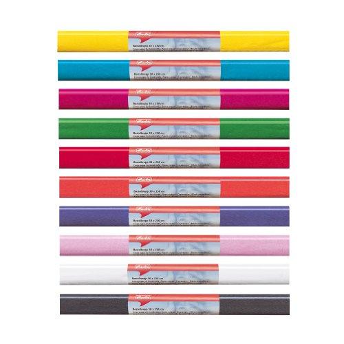 Herlitz 253054 Papier crépon, (L) 500 x (L) 2500 mm, rose