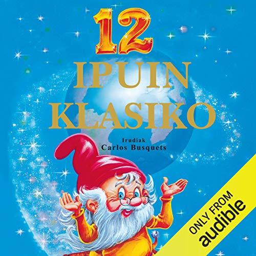 Diseño de la portada del título 12 ipuin klasiko