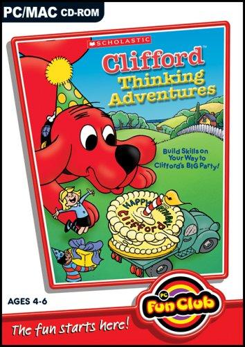 PC Fun Club : Clifford Thinking Adventures [import anglais]