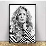 N/S Poster Jennifer Lopez Poster Wandkunst Drucke Leinwand