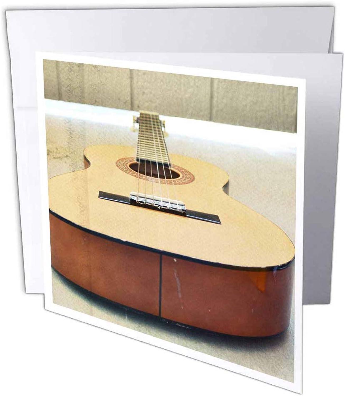 3dRosa gc_29249_1 Grußkarte Gitarre Fotografie Fotografie Fotografie Musikinstrumente , 15,2 x 15,2 cm, 6 Stück B07B3X99JW | Charakteristisch  | Elegantes Aussehen  | Realistisch  0fd400
