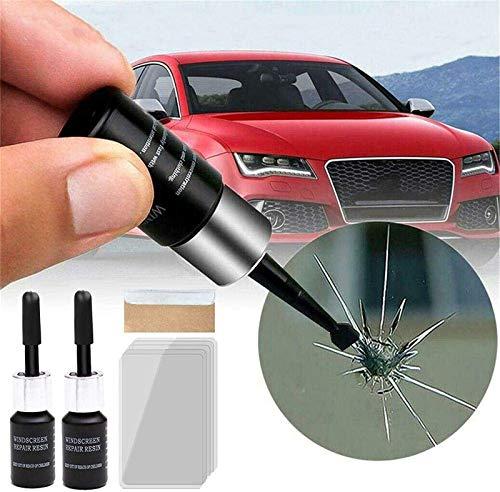 2 STK. Autoglas Nano Total Repair Fluid Kit, Reparaturwerkzeug Für Fensterglasrisse, Reparatur Von Windschutzscheibenrissen, Für Die Automatische Glasriss-Krater-chip- Und Kratzbefestigung