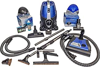 Sirena Bagless Vacuum Cleaner Premium Pack - Lightweight Water Filtration Pet Vacuum - Bonus 2 Twister Air Purifiers, HEPA Filter and Turbo Brush - Hardwood Floor Sweeper and Pet Hair Cleaner