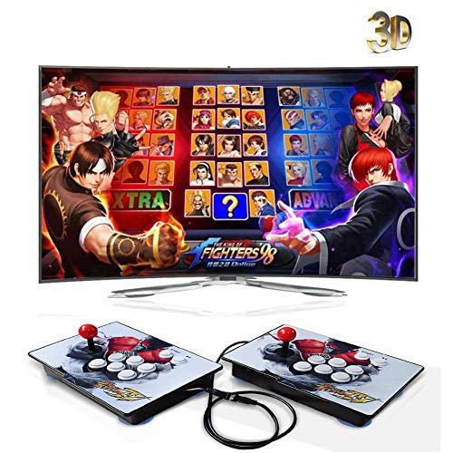 ZOSUO 720P Full HD Real 3D Arcade Video Game Console 3160 Juegos...