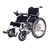 RSDPJ Carrozzina Leggera, Sedia a rotelle elettrica Completamente Automatica, Pattino Elettrico Compatto, Sedia a rotelle elettrica per Anziani