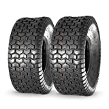 MaxAuto Lawn & Garden Turf Saver Tire 20x8-8 20x8.00-8 20x8x8,4PR, Set of 2