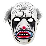 Daylight Butcher The Clown Mask Killer Joker Jeffrey Hawk Full Face Latex Mask Cosplay Props White