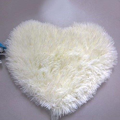royalr Herz-geformte rutschfeste Soft-Tufting-Teppichmatte Teppichboden-Matten-Bereichs-Wolldecke