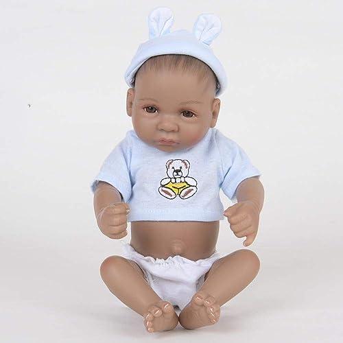 caliente Hongge Reborn Baby Doll,Realista de Silicona Silicona Silicona Reborn muñeca Juguete Mejor Navidad cumpleaños Regaño 28cm  calidad oficial